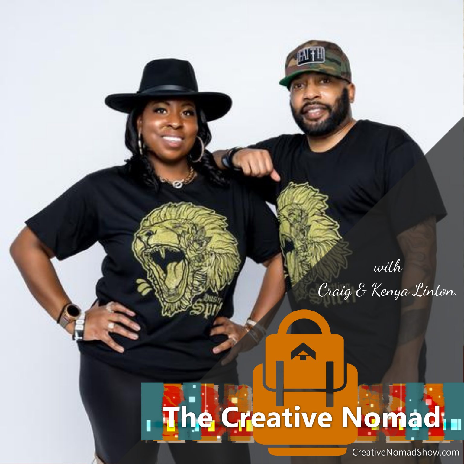 Craig and Kenya on the Creative Nomad Show